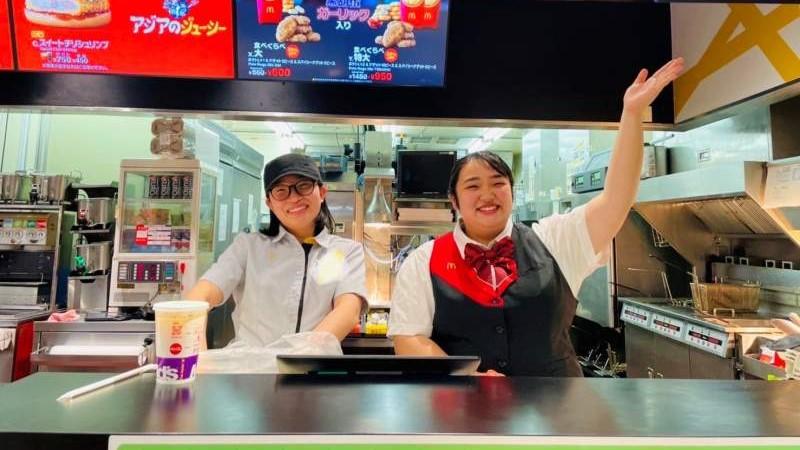 マクドナルド三好アイ・モール店 アルバイト募集情報1